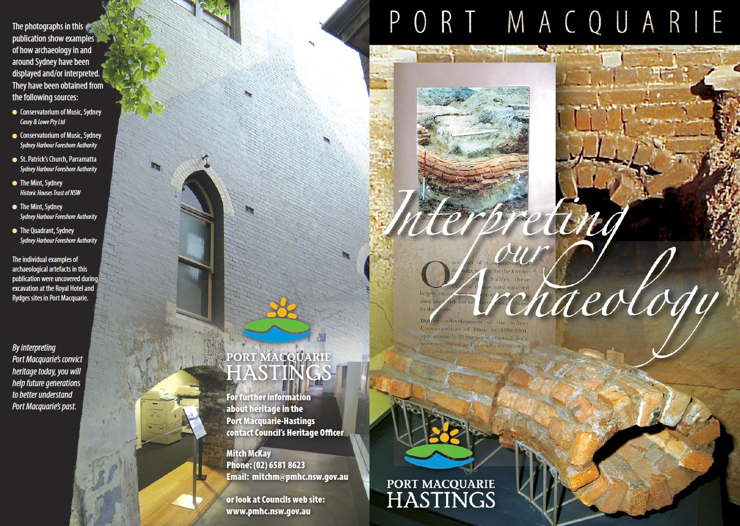 Port Macquarie - Interpreting our Archaeology