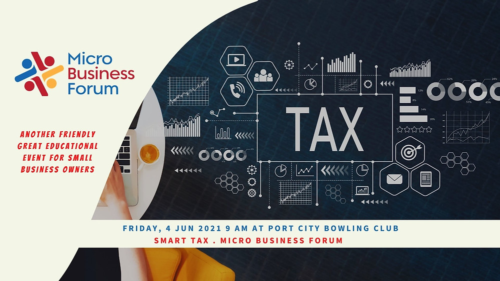MBF Meeting 4 June on Smart Tax for small business