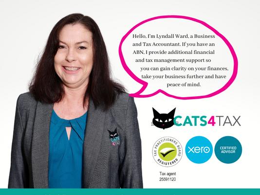 Lyndall Ward, CATS4TAX, Financial and Tax Accountant