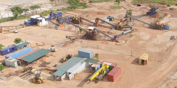 Lulo Diamond Operations. (source: Lucapa Diamonds)