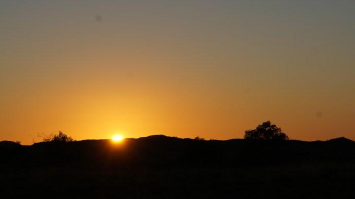Winter sunrise – Pilbara style