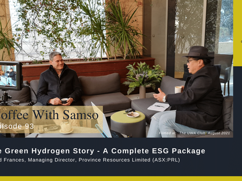 Province Resources Limited has a Green Hydrogen Story with a Complete ESG Package.