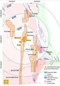 Talisman Mining Sinclair Proj