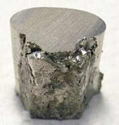 Image of Nickel sample. Samso Insights