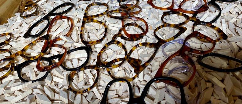 Frames go through a tumbling process