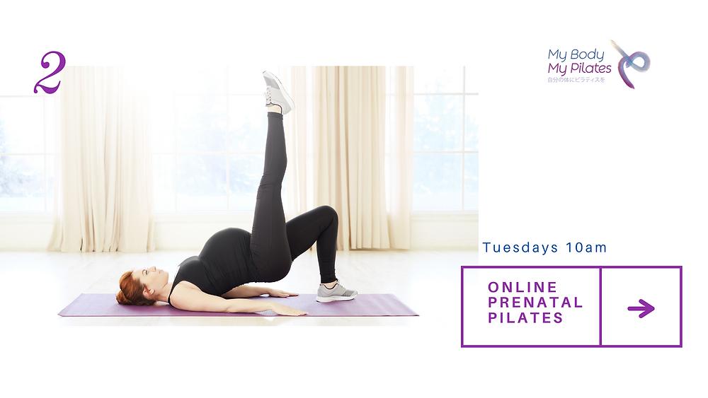 My Body My Pilates has added online Prenatal Pilates classes