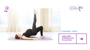 My Body My Pilates has added online Prenatal Pilates classes