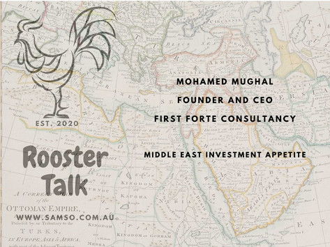 Middle Eastern Investment Appetite