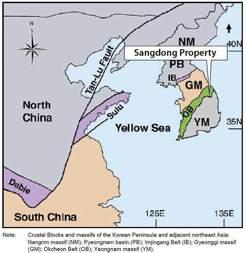 The Sangdong mine located in South Korea is one of the largest tungsten mines in the world. (Source: Wikipedia) | Coffee with Samso