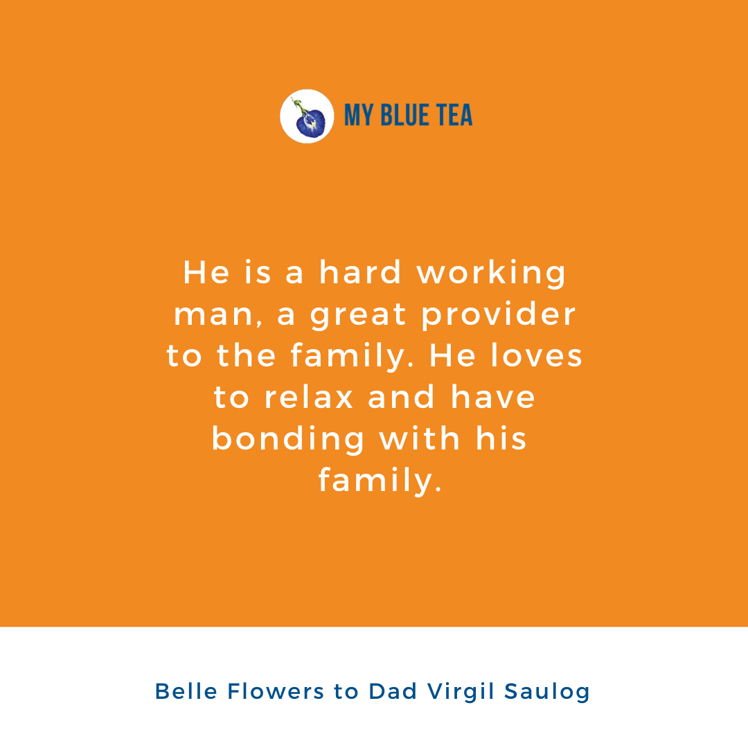 My Blue Tea Father's Day Contest Winner - Belle Flowers