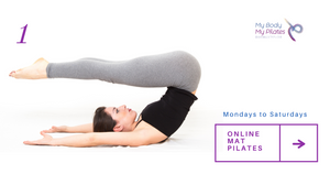You will always enjoy a Mat Pilates online class with My Body My Pilates