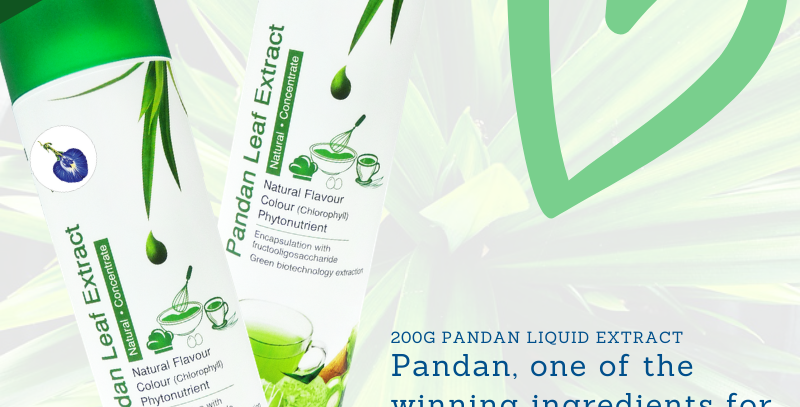 Free Shipping now for the first 10 bottles of My Blue Tea 200g Pandan Extract