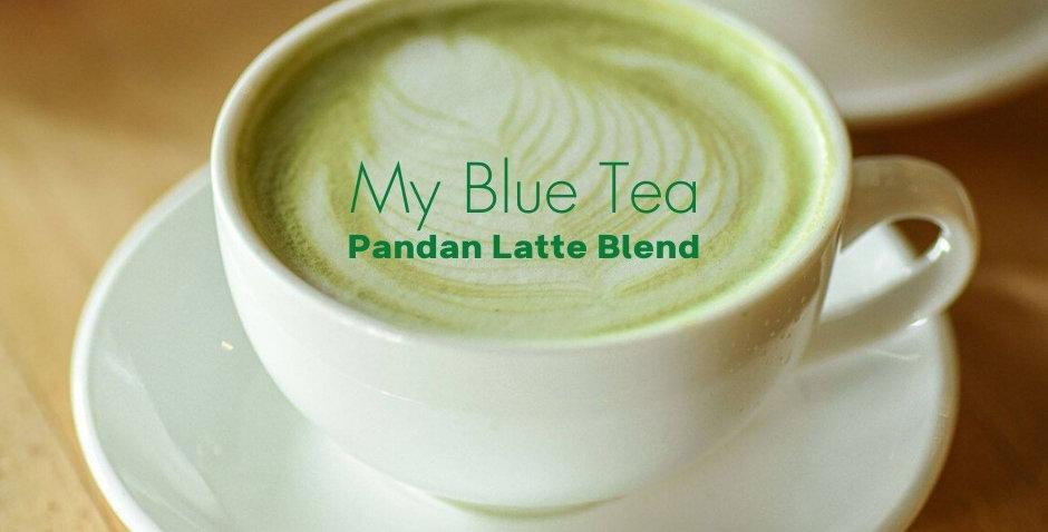 Pandan Latte Blend from My Blue Tea