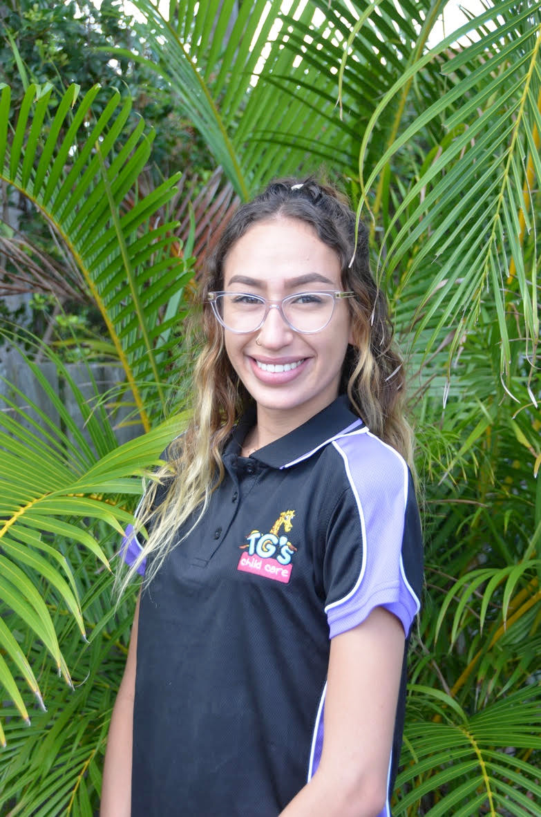 TG's Childcare educator Lutaina Corley