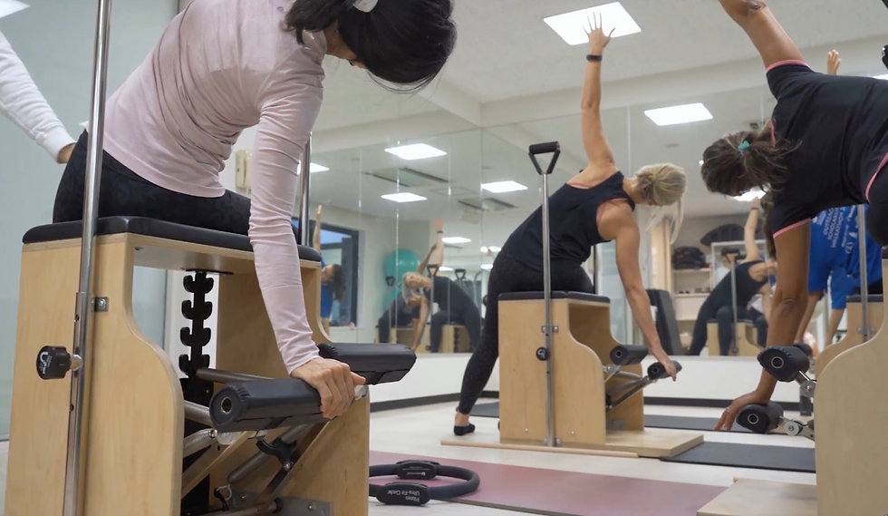 My Body My Pilates offers small group and private English and Japanese speaking Pilates cl