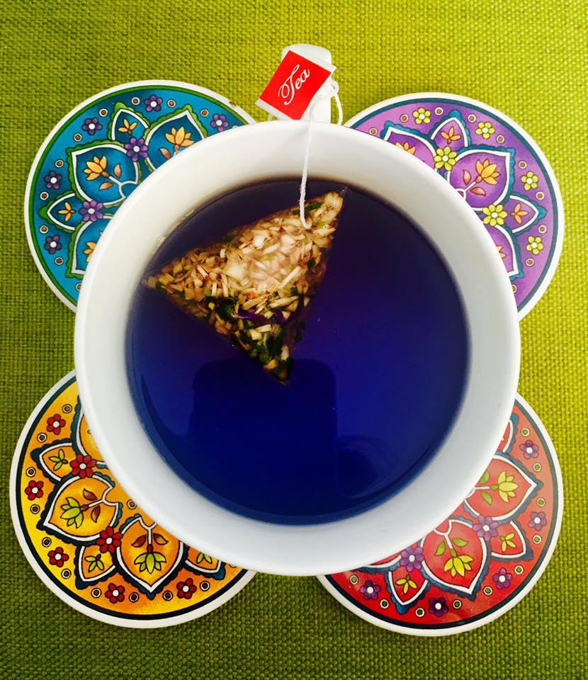 My Blue Tea happy client