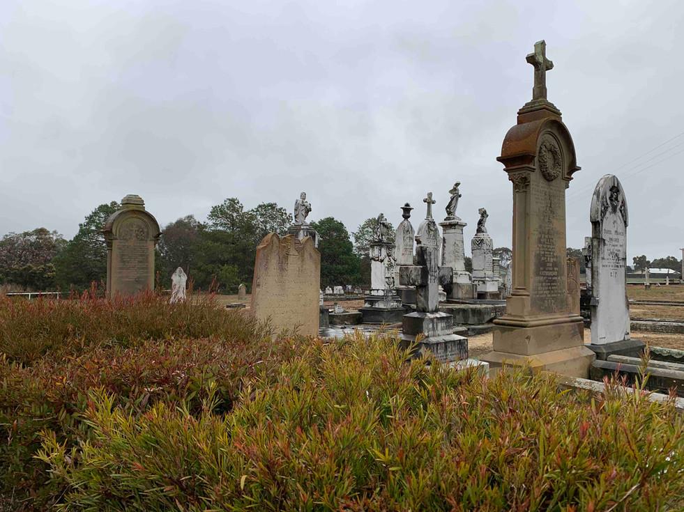 Old Cemetery, Uralla - Port Macquarie Ha
