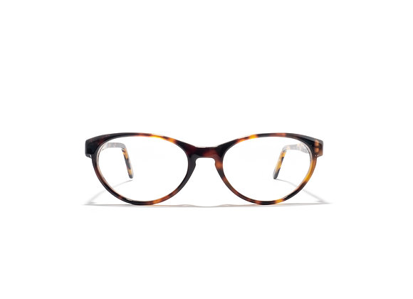 Trinity Female Australian made spectacle frame in tortoise at Optex Australia Eyewear (front view)