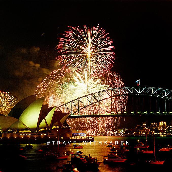 Sydney New Year's Eve photos for sale   OZ Land Photos   Karen Williamson