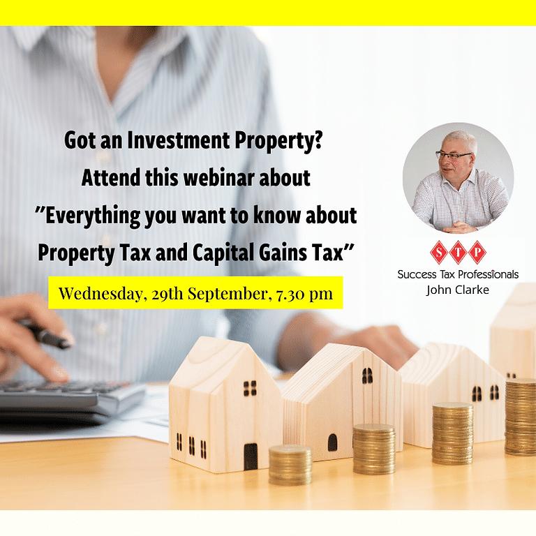 STP Investment Property Tax Webinar