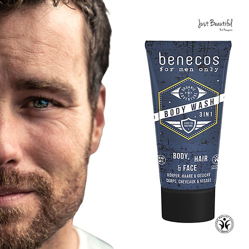 Benecos 3-in-1 Hair Body Face Wash