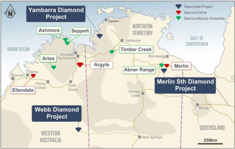 Figure 1: GeoCrystal project location. Samso Insights
