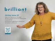 Chrissy Jones JP, Brilliant-Online