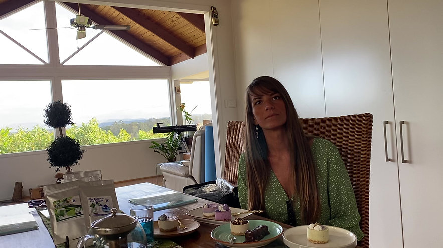 Vermilion Pinstripes Marketing Agency for My Blue Tea interviews Rafaela Baia of Yummy Raw about her passion
