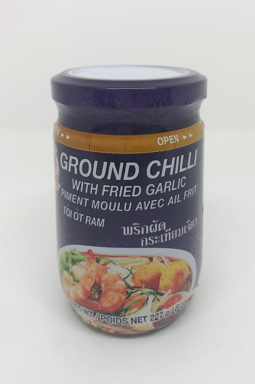 GroundChilli with Fried Garlic