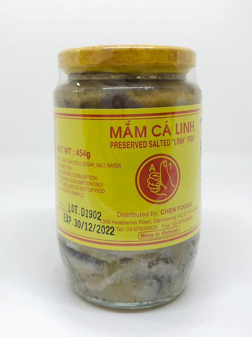 Preserved Salted Linh Fish