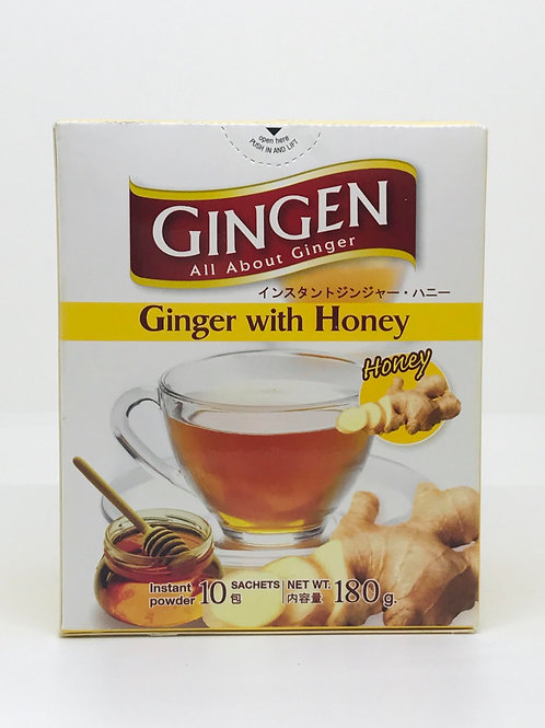 Gingen Ginger with Honey
