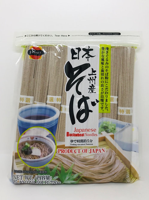 Japanese Buckwheat Noodles
