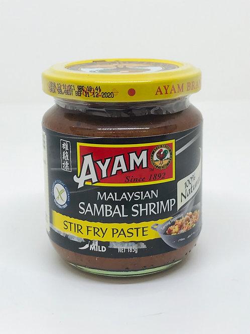 Sambal Shrimp Stir Fry Paste