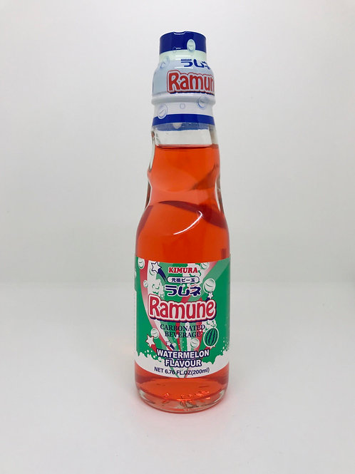 Ramune Carbonated Drink - Watermelon