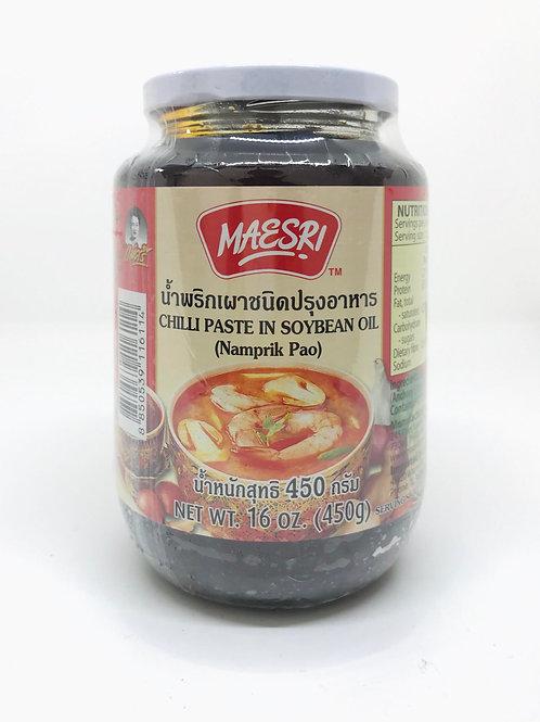 Maesri Chilli Paste in Soybean Oil