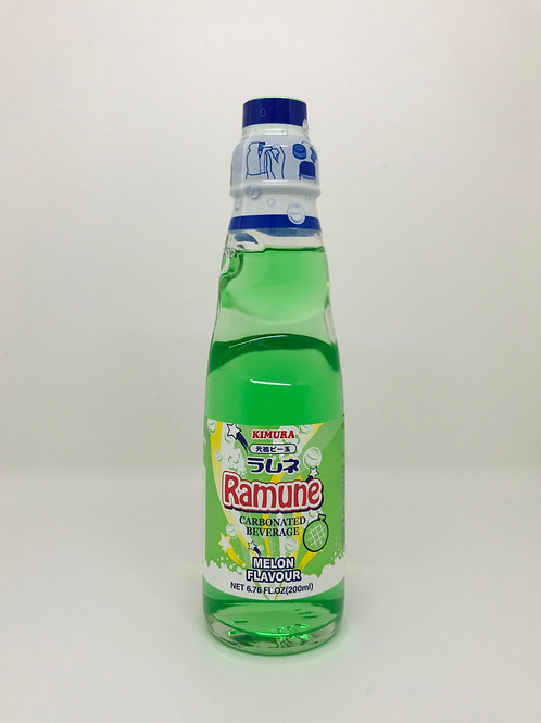 Ramune Carbonated Drink - Melon