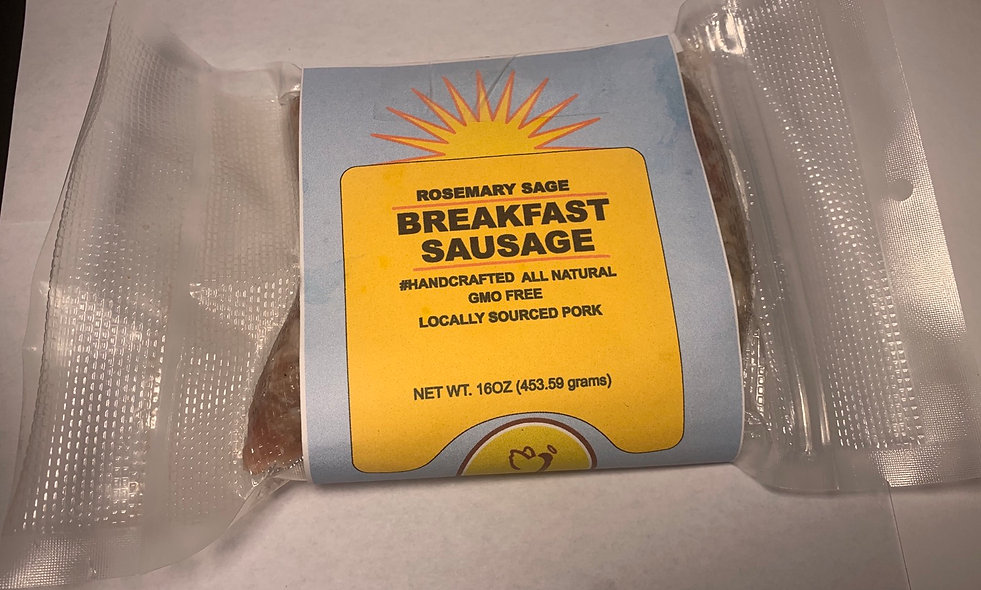 1lb Bulk - Rosemary Sage Breakfast Sausage (bulk)
