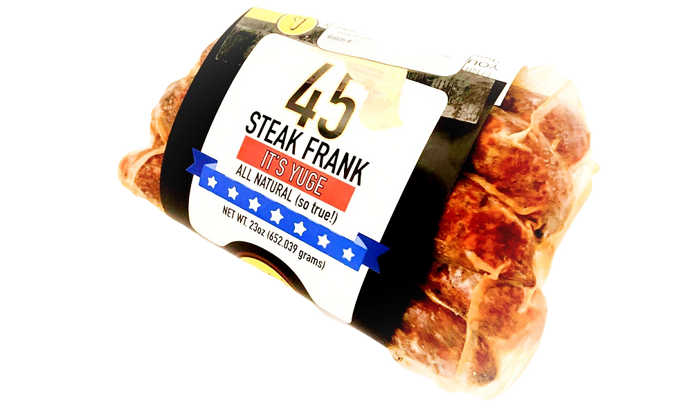 "The ""45"" Steak Frank"
