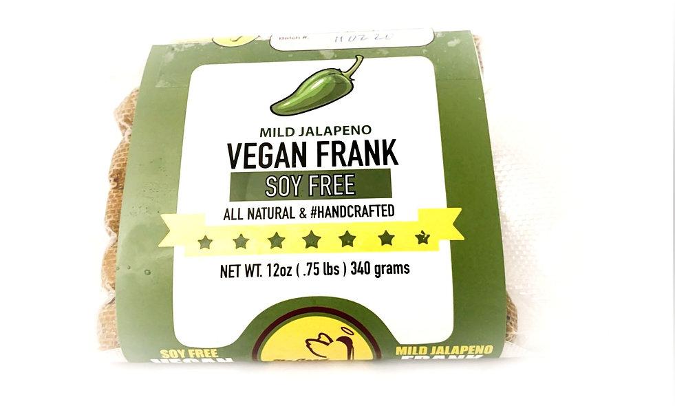 6 pk Jalapeño (mild) Vegan Frank