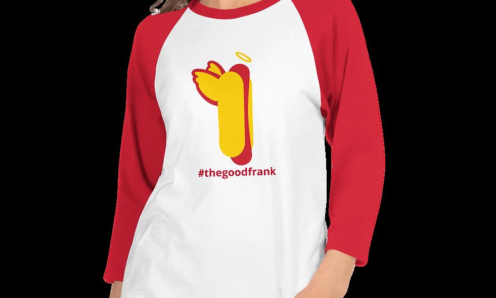 The Good Frank 3/4 sleeve raglan shirt