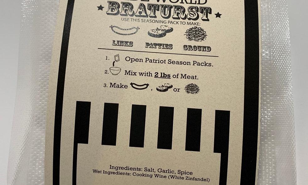 Olde World Bratwurst Seasoning Pack