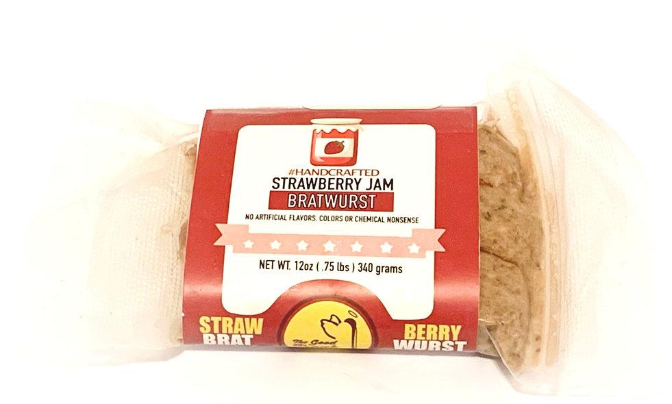 Strawberry Jam Bratwursts