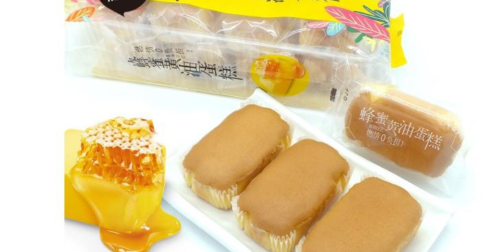 棒斯基蜂蜜黄油小蛋糕