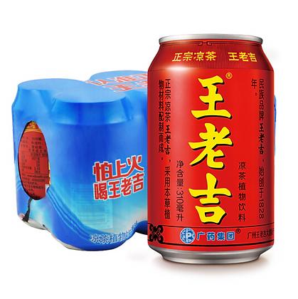 王老吉凉茶 6罐装