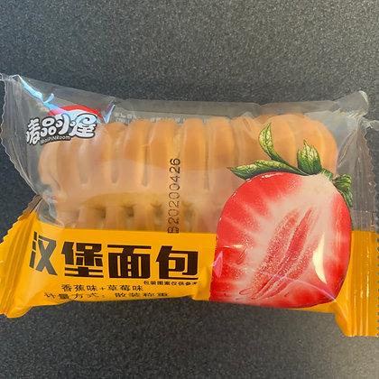 唛品小屋汉堡面包草莓香蕉味(3个)