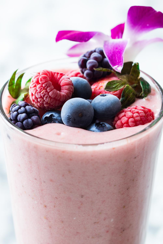 Strawberry-Smoothie-Without-Yogurt-Photo