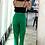 Thumbnail: Pantalón cigarette verde
