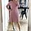 Thumbnail: Vestido Rib rosa