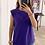 Thumbnail: Camiseta hombreras morada
