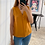 Thumbnail: Blusa básica cuello V mostaza